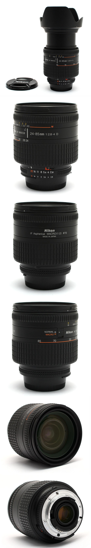 nikon nikkor 24 85mm f2 8 4 d af zoom lens 24405 ebay. Black Bedroom Furniture Sets. Home Design Ideas